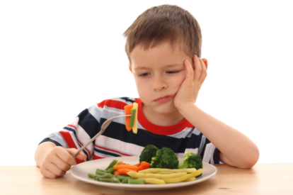 How do I get my child to eat more fruits and veggies?