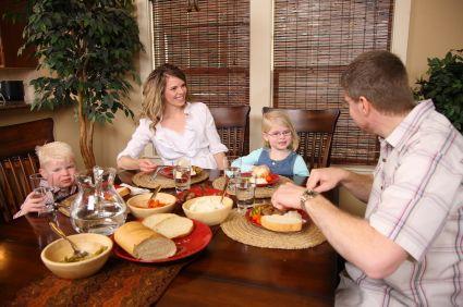 Dinner with preschoolers